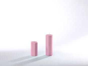 Stearinkerzen rosa