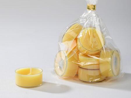 Teelichter gelb